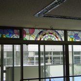 東京足立病院ステンドグラス