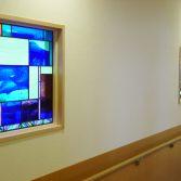 八王子市平川病院ステンドグラス