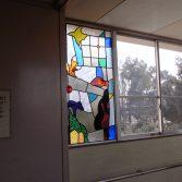 春日部市立緑小学校卒業記念ステンドグラス