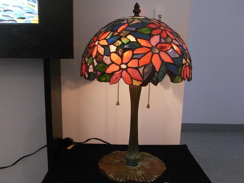 こぶしの花ステンドグラス